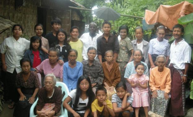 burmese widows